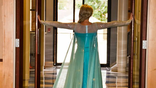 Eiskönigin Elsa wird enthaftet, das Beweisstück war geschmolzen... (Bild: Sakalas Photography)