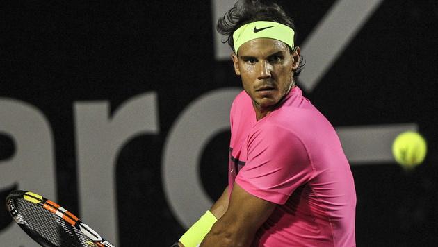 Nadal rastet aus und beschwert sich über Referee (Bild: APA/EPA/ANTONIO LACERDA)