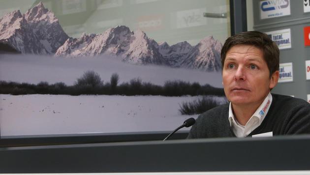 SV Ried-Trainer Oliver Glasner muss vor der Staatsanwaltschaft und der Polizei aussagen. (Bild: Daniel Scharinger)