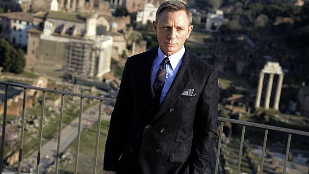 Daniel Craig dreht gerade in Rom. (Bild: APA/EPA/CLAUDIO ONORATI)
