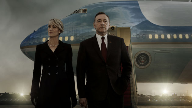 Claire (Robin Wright) und Frank Underwood (Kevin Spacey) (Bild: © © 2015 MRC II Distribution Company L.P. All Rights)