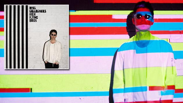 Noel Gallagher auf der Suche nach dem Oasis-Vibe (Bild: Mash Records)