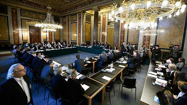 Neuwahlen würden Eurofighter-U-Ausschuss abwürgen (Bild: APA/Helmut Fohringer)