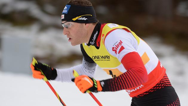 Bernhard Gruber beim Weltcup-Auftakt Vierter (Bild: APA/BARBARA GINDL)