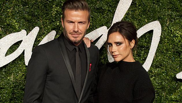 """David Beckhams Gattin Victoria lässt ihrem Assistenten """"tragende Aufgaben"""" zukommen. (Bild: APA/EPA/WILL OLIVER)"""