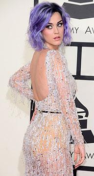Katy Perry im sexy Abendkleid (Bild: EPA)