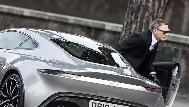 """Daniel Craig hat sich bei Dreharbeiten des neuen James-Bond-Films """"Spectre"""" in Rom verletzt. (Bild: EPA)"""