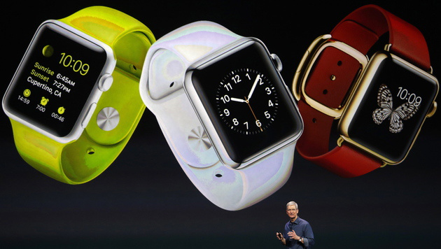 Apple Watch:  Apple lädt zu Event am 9. März (Bild: APA/EPA/MONICA DAVEY)