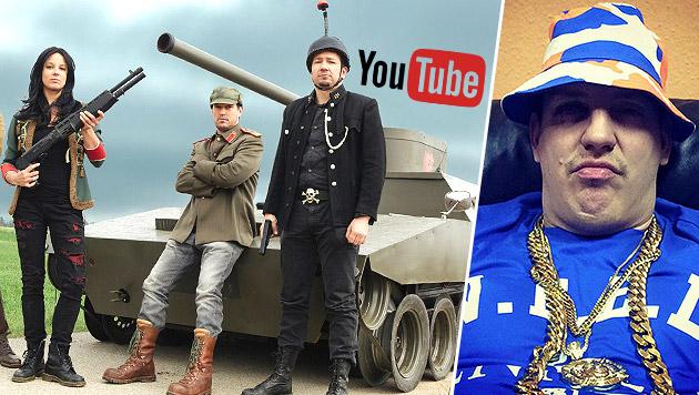 Klick-Hype: Österreichs Bands erobern YouTube (Bild: facebook.com/rammelhof, facebook.com/therealmoneyboy)
