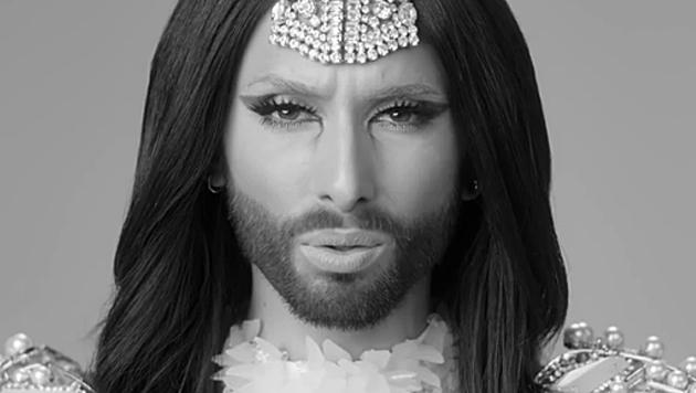 Unsere Song-Contest-Queen Conchita Wurst wird gerne geklickt. (Bild: youtube.com/user/ConchitaWurst)