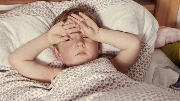 Masernkranke haben typische Flecken, Säuglinge und Erwachsene tragen das größte Komplikationsrisiko. (Bild: Krone)
