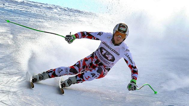 Reichelt erneut Trainingsschnellster in Garmisch (Bild: APA/EPA/KARL-JOSEF HILDENBRAND)
