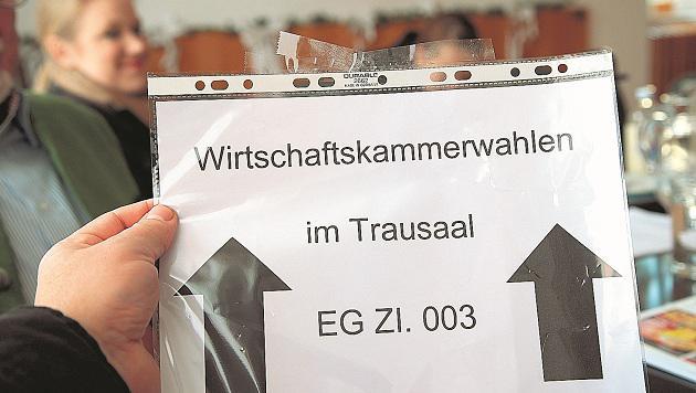 Die Wirtschaftskammer-Wahlen in Salzburg endeten mit einer Überraschung. (Bild: Markus Tschepp)