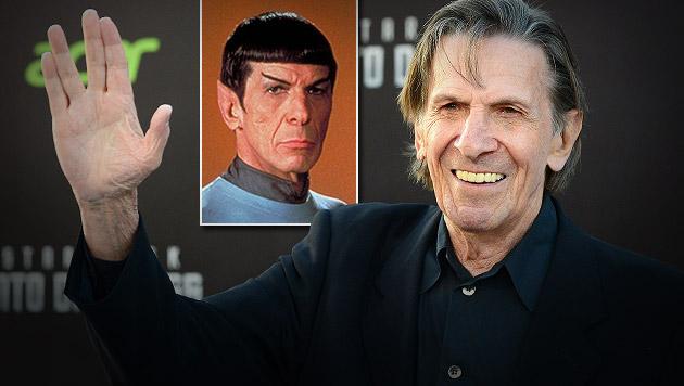 """Star Trek""-Darsteller Leonard Nimoy gestorben (Bild: AP)"