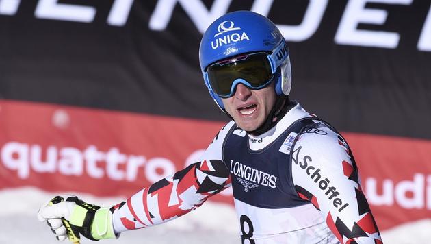 Matthias Mayer lässt RTL in Garmisch aus (Bild: APA/EPA/JOHN G. MABANGLO)