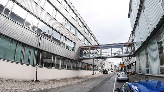 Erneut Schule in Salzburg überschwemmt (Bild: Markus Tschepp)