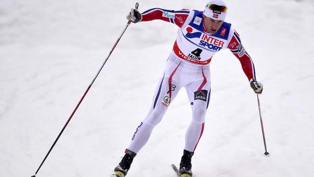 Petter Northug krönte sich zum Superstar von Falun (Bild: APA/EPA/ANDERS WIKLUND)