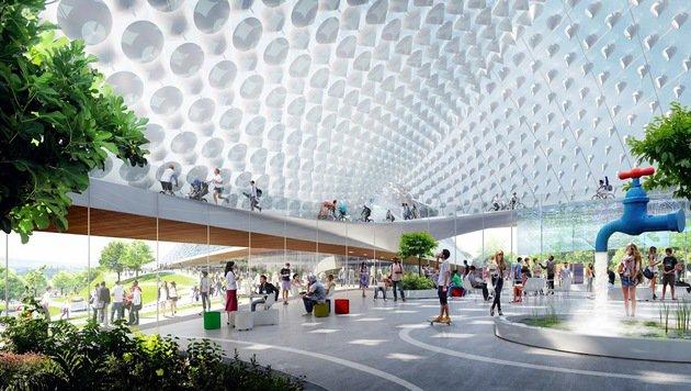Google plant gigantisches neues Hauptquartier (Bild: Google)