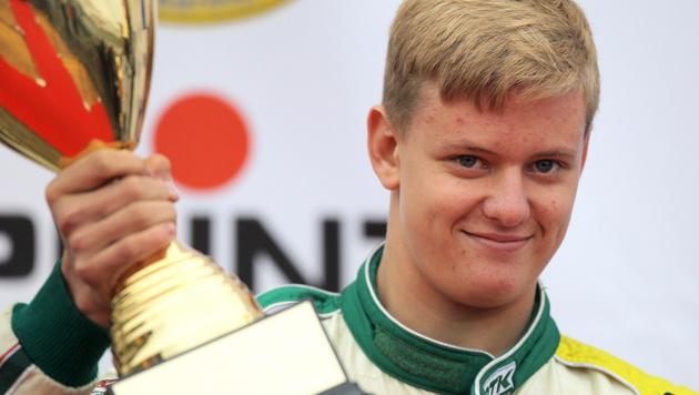 Schumachers Sohn startet Rennfahrer-Karriere (Bild: APA/EPA/FREDRIK VON ERICHSEN)