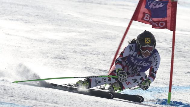 Sensationell! Nächster Triumph für Anna Fenninger (Bild: APA/EPA/VASSIL DONEV)