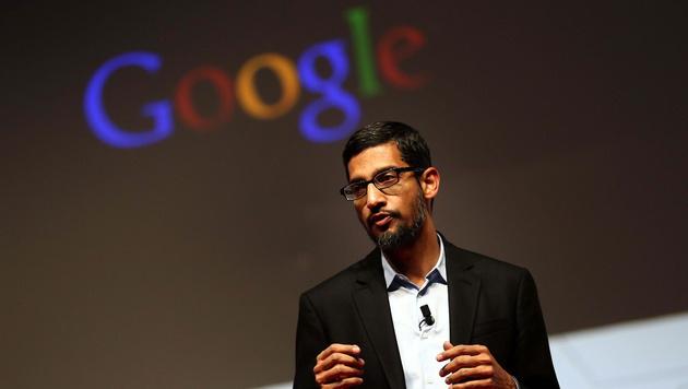 Google-Chef Sundar Pichai (Bild: APA/EPA/Toni Albir)