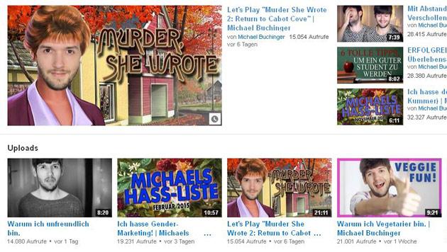 Derzeit hat sein Channel 50.000 Abonnenten - die YouTube-WG wird aber bestimmt für Zuwachs sorgen! (Bild: YouTube.com)