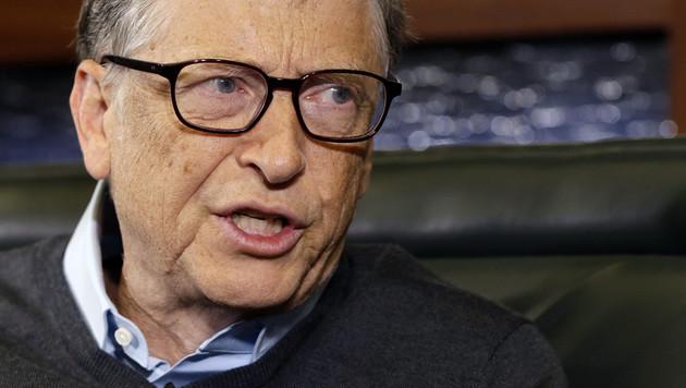 """""""Forbes"""": Gates bleibt reichster Mensch der Welt (Bild: AP)"""