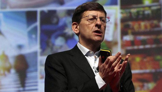 """Vodafone-Chef: """"Mobilfunkpreise sollten steigen"""" (Bild: APA/EPA/ALBERTO ESTEVEZ)"""