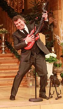 Ex-Moderator Andy Borg - ein kleiner Rockstar (Bild: dpa/Bodo Schackow)