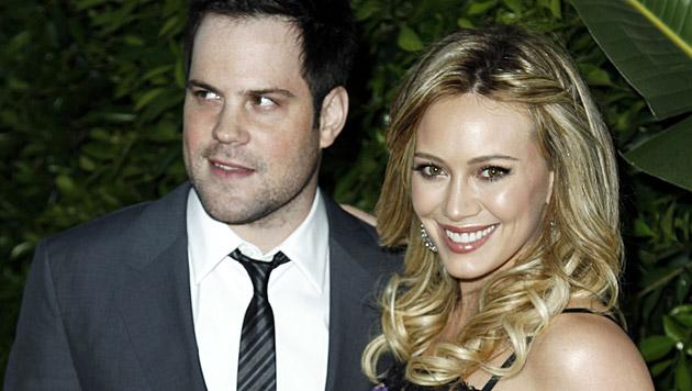 Hilary Duff und Ex-Ehemann Mike Comrie (Bild: AP)