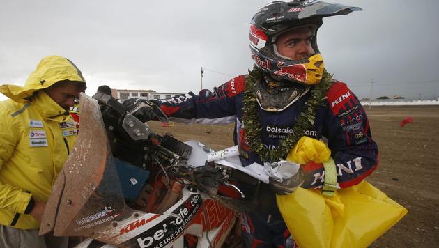 Walkner erhält dreijährigen KTM-Werksvertrag (Bild: APA/EPA/Felipe Trueba)