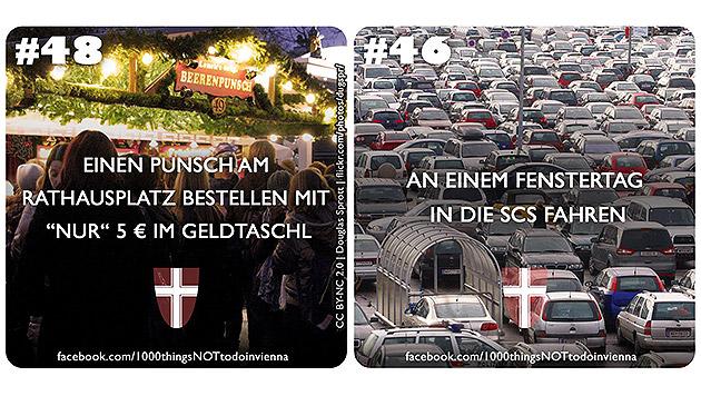Was Sie in Wien nicht machen sollten! (Bild: 1000thingsnottodoinvienna/Facebook.com)