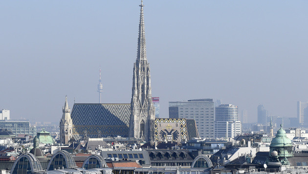 Das Wahrzeichen der lebenswertesten Stadt, der Wiener Stephansdom (Bild: APA/HELMUT FOHRINGER)