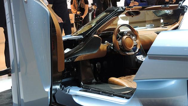 Koenigsegg in Genf: 1500 PS, kein Getriebe (Bild: Stephan Schätzl)
