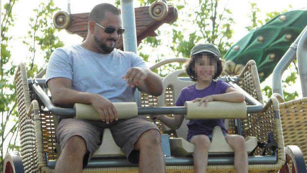 Das letzte gemeinsame Foto von Victoria mit ihrem Papa. 2010 wurde Iragorri in Katar verhaftet. (Bild: Uschi Iragorri)