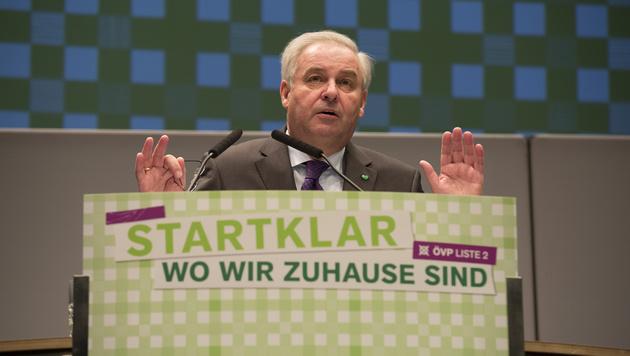 Hermann Schützenhöfer (Bild: APA/ERWIN SCHERIAU)