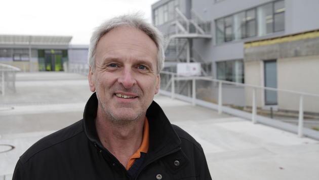 """Dir. Othmar Weißenböck (NMS Feldkirchen) sagt: Bei einer guten Schule ist es egal, wie sie heißt."""" (Bild: Markus Schütz)"""