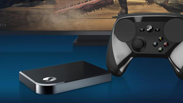 Steam Link dient als günstiger Streaming-Empfänger für das TV-Gerät. (Bild: Valve)