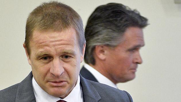 Auch für den mitangeklagten Co-Vorstand Thomas Kornhoff gab es einen Freispruch. (Bild: APA/HERBERT NEUBAUER)