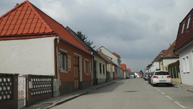 In der sonst ruhigen Wohnsiedlung in Zagersdorf kam es zum Beziehungsdrama. (Bild: Peter Tomschi)