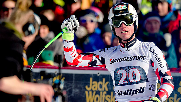 Triumph in Kvitfjell! Reichelt weiter in Überform (Bild: APA/EPA/STR NORWAY OUT)