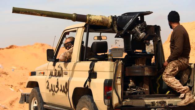 Libyen: Keine Spur von verschwundenem Linzer (Bild: AFP)