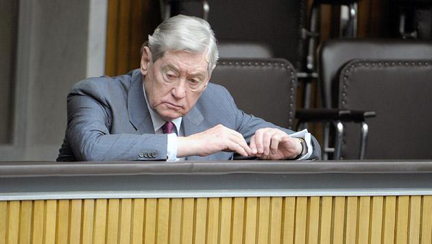 SPÖ-Urgestein Hannes Androsch (Bild: APA/ROLAND SCHLAGER)