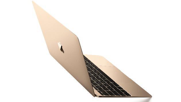Apples 12-Zoll-Macbook hat nur einen USB-C-Anschluss: Adapter sind bei so einem Gerät Pflicht. (Bild: Apple)