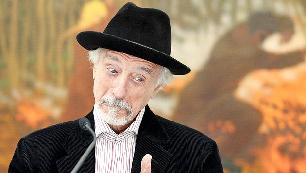 Arik Brauer erhält den Lebenswerk-Amadeus-Award (Bild: APA/HERBERT NEUBAUER)