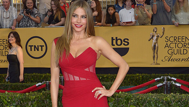 Serien-Star Sofia Vergara ist vor allem wegen ihrer heißen Kurven beliebt. (Bild: APA/EPA/PAUL BUCK)