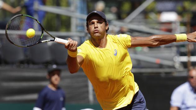 Mayer gewinnt längstes Davis-Cup-Einzel überhaupt (Bild: AP)