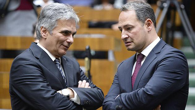 SPÖ setzt nun auf KESt statt Erbschaftssteuer (Bild: APA/HANS KLAUS TECHT)