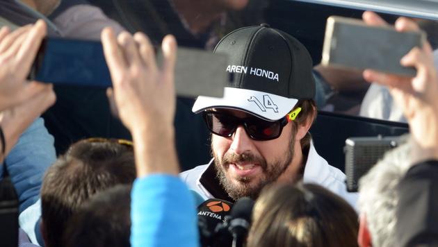 Alonso für Malaysia-Comeback zuversichtlich (Bild: APA/EPA/Peter Steffen)