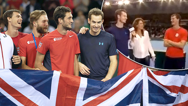 Andy Murray plaudert Affäre von Teamkollegen aus (Bild: AFP, YouTube.com)